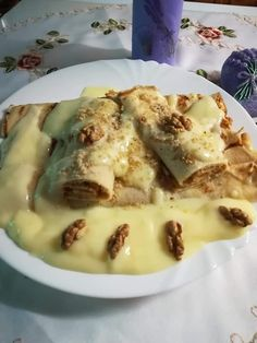 Waffles, Pancakes, Chimichanga, Hungarian Recipes, Healthy Living, Food And Drink, Dessert Recipes, Sweets, Lunch