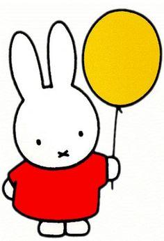 Miffy~love the sweet simplicity of Dick Bruna's children's books.