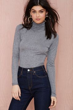 Cheap Monday More Heathered Turtleneck | Shop Clothes at Nasty Gal