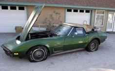 1973 Corvette Stingray Convertible Project - http://www.barnfinds.com/1973-corvette-stingray-convertible-project/