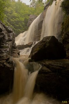 Pendleton Run in Blackwater Falls State Park, West Virginia