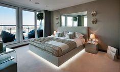 30+ Modern Floating Bed Frame Ideas
