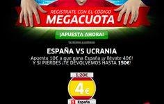 el forero jrvm y todos los bonos de deportes: marca apuestas megacuota 4 España vs Ucrania euro ...