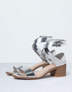 Bershka medium heel sandals - Shoes - Bershka Switzerland