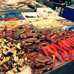 Old Portsmouth fish market.