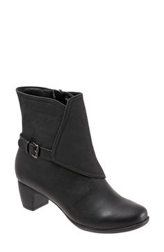 SoftWalk® SoftWalk® 'Puddles' Waterproof Bootie(Women) available at #Nordstrom