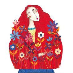 """75 Likes, 4 Comments - Andrea Kürti (@kurti.andrea) on Instagram: """"Királylány a lángpalotában #illustration #childrensbook #gutenbergkiadó #comingsoon…"""""""