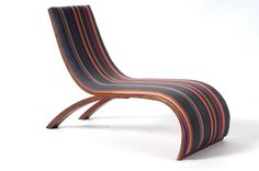 Wave Childrens Chair - Paul Smith Stripes by Utzon Kids £472.45