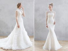 The Modesty Trend! 27 Timeless Wedding Dresses with Graceful High Necklines!