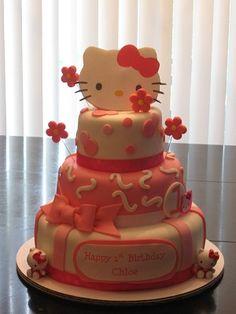 Cute Hello Kitty cake by Cest la vie cakes
