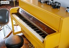 Painted piano, yes, it is possible!
