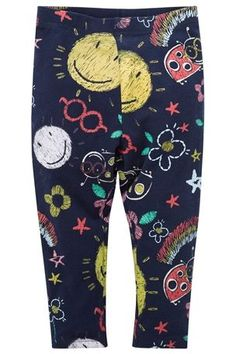 Buy Navy Scribble Leggings (3mths-6yrs) from the Next UK online shop
