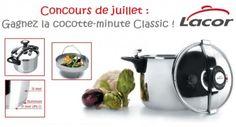 CONCOURS DE JUILLET: Gagnez cette cocotte-minute Classic de Lacor !