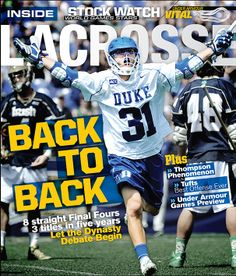 Have you seen the new cover of July's Inside Lacrosse Magazine? In the mail now. Get it at: https://store.insidelacrosse.com/index.php?route=product/category&path=60