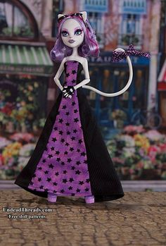 Monster High dress. Free pattern!