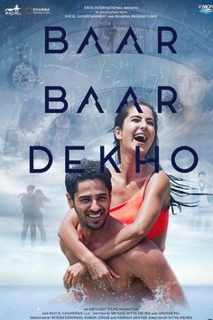 Baar Baar Dekho (2016) Hindi Movie Online in HD - Einthusan  - Sidharth Malhotra, Katrina Kaif, Sayani Gupta Directed by Nitya Mehra Music byAmaal Mallik , Arko, Badshah,Jasleen Royal ,Bilal Saeed 2016 [UA] ENGLISH SUBTITLE