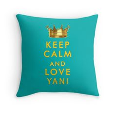 """""""Keep Calm and love Yani"""" slogan printed on T-shirts, cases and skins, pillows, mugs and other items, for Yanis Varoufakis and Greece lovers all over the world Keep Calm And Love, Drink Sleeves, Slogan, Greece, Lovers, Cases, Throw Pillows, Mugs, Printed"""