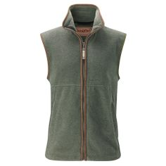 Men's fleece gilet from Oliver Brown. GBP 125. Ideal for wearing beneath an overcoat or on its own.