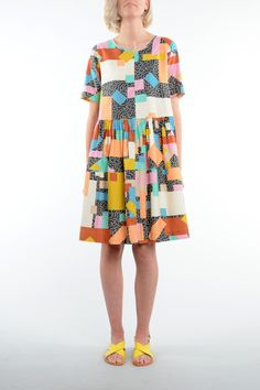 Blocks Smock | By Obus http://obus.com.au/