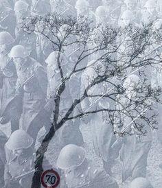 Snow, Abstract, Artwork, Outdoor, Kunst, Summary, Outdoors, Work Of Art, Auguste Rodin Artwork