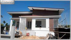แบบบ้านโมเดิร์นชั้นเดียวรีสอร์ท MD04 Modern Loft, House Plans, Exterior, House Design, How To Plan, Wood, Outdoor Decor, Houses, Home Decor