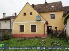 Foto Bauernhaus mit Grundstück für kleines Geld - Waldviertel, Nähe Raabs/Thaya Outdoor Structures, Farm Cottage, Real Estates, Remodels, Woodland Forest