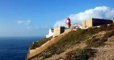 Urlaub an der Westküste der Algarve - Kap Cabo de Sao Vicente, Algarve, Portugal
