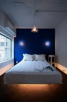 ラグジュアリーな寝室(青木ビル) - ベッドルーム事例|SUVACO(スバコ)