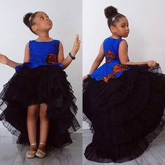 kiddies ankara gown styles