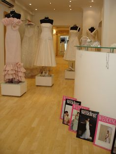 Who wouldn't want to buy their made to measure, couture, wedding gown, in our beautiful boutique!