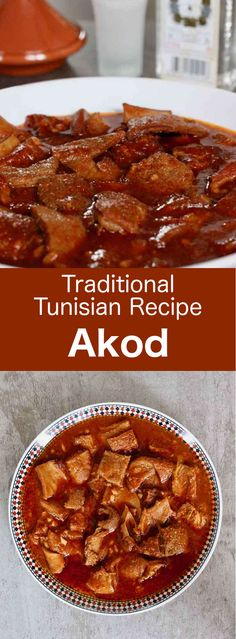 Akod is the epitome of Tunisian Jewish cuisine. It is prepared with tripe skillf… Akod is the epitome of Tunisian Jewish cuisine. It is prepared with tripe skillfully scented with cumin, garlic, tomato paste and harissa. Tripe Recipes, Vegan Recipes, Tunisian Food, Harissa, Soup Appetizers, Mediterranean Dishes, Food N, Popular Recipes, Tomato Paste