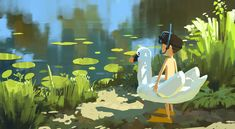 Enjoy The Art of Shin Jong Hun, a Korean Artist based in Seoul. Color Script, Environment Concept Art, Art Challenge, Beautiful Artwork, Cute Art, Art Inspo, Illustrations Posters, Vector Art, Amazing Art
