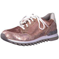 Damen Sneaker von Tamaris in Metallic-Optik findet Ihr im Online Shop von schuhe.de