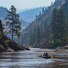 Salmon River , Idaho , USA