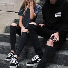 girl, fashion, and couple image