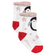 Catimini - Baby Girl Graphic Penguin Socks - 1