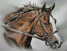 Gorgeous Horse Art.