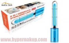 Sterilizačná lampa ozonizér  O3 & UV infra fialové svetlo - MT6509 White Out, Office Supplies, Usb