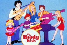 Brady bunch cartoon