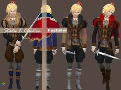 Sims 4 CC's - The Best: Medieval edge-My lord outfit by Studio K Creation
