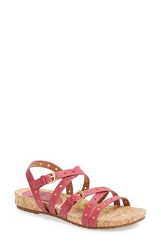 Söfft 'Malana' Leather Sandal (Women) available at #Nordstrom