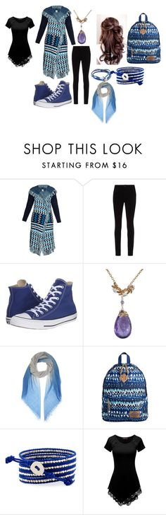 """Intro to Aria"" by marcey5985 on Polyvore featuring Banjo & Matilda, L'Agence, Converse, Bottega Veneta, Dickies, Doublju and Anchor & Crew"