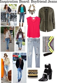 how to style a pair of boyfriend jeans!