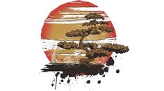Bonsai is a T Shirt designed by MaNiaCreations to illustrate your life and is available at Design By Humans