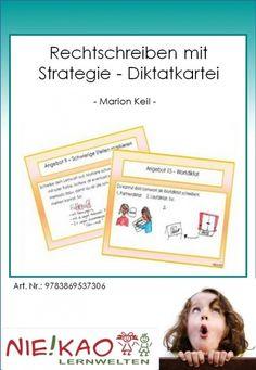 Rechtschreiben mit Strategie - Diktatkartei