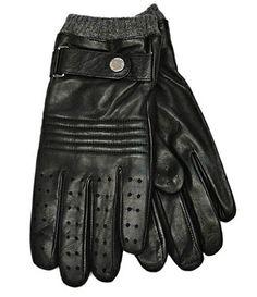 POLO RALPH LAUREN (ポロラルフローレン) PANCHING LEATHER GLOVE レザーグローブ/革手袋 BLACK - Lafayette|ラファイエット公式通販サイト