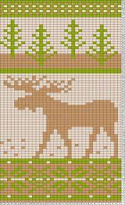 Aiheeseen liittyvä kuva Moose, Knitting Patterns, Knit Patterns, Mousse, Knitting Stitch Patterns, Elk, Loom Knitting Patterns