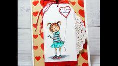 Video Tutorial: Stencil Background Valentine Girl