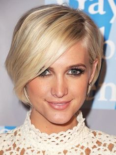 Ashlee simpson short hairstyles ashlee simpson 12 celebrities 27 lovely looks 3 tips for brides with shorter hair urmus Gallery