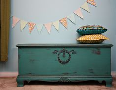 My shabby Chic Lane Cedar Chest -   SA-WEET